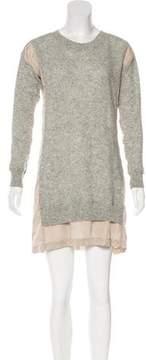 Clu Paneled Knit Dress