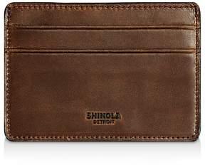 Shinola Distressed Card Case