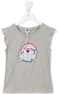 Karl Lagerfeld spider print T-shirt