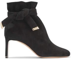 Nicholas Kirkwood Ziggy Suede Ankle Boots - Black