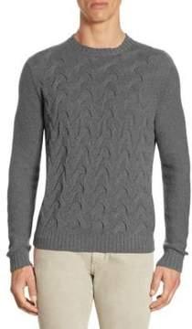 Loro Piana Crazy Cable Cashmere Sweater