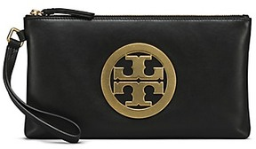 Tory Burch Charlie Clutch - BLACK - STYLE
