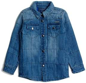 GUESS Quilted Denim Shirt (2-6x)