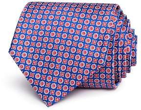 Bloomingdale's The Men's Store at Printed Mini Square Floret Neat Classic Tie - 100% Exclusive