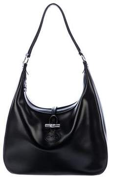 Longchamp Smooth Leather Hobo
