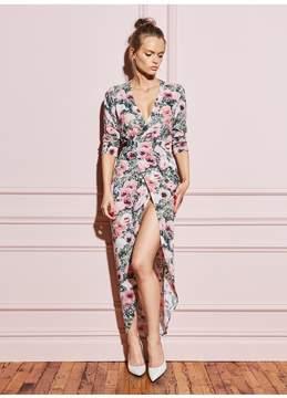 Fleur Du Mal | Georgette Wrap Dress | S | Floral