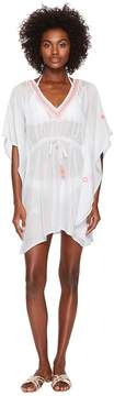 Letarte Embroidered Cover-Up