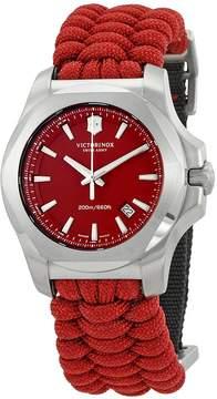 Victorinox I.N.O.X. Paracord Red Dial Men's Watch