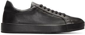 Jil Sander Black Leather Miro Sneakers