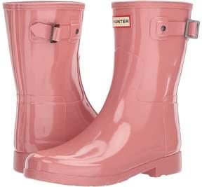 Hunter Refined Short Gloss Women's Rain Boots