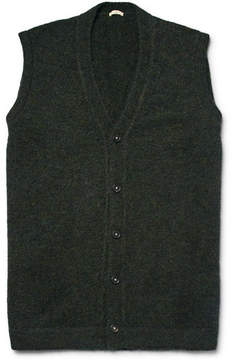 Massimo Alba Mélange Baby Alpaca-Blend Sweater Vest
