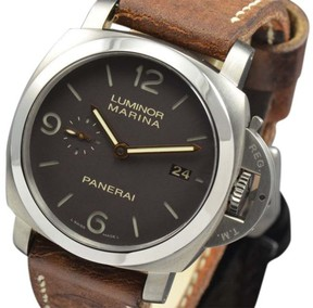 Panerai Luminor PAM 351 Titanium Automatic Brown 44mm Mens Watch