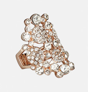 Avenue Stone Cluster Stretch Ring
