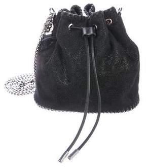 Stella McCartney Shaggy Deer Small Bucket Bag