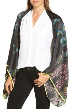 Ted Baker Women's Unity Floral Silk Cape Scarf