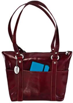 David King Women's 3543 Florentine 6 Pocket Shopper