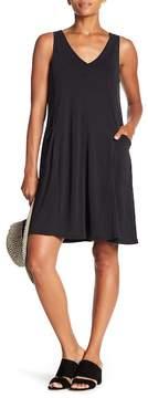 Spense V-Neck Solid Dress