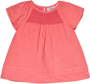 Mini A Ture Noa Noa Miniature Sugar Coral Pink Short Sleeve Blouse