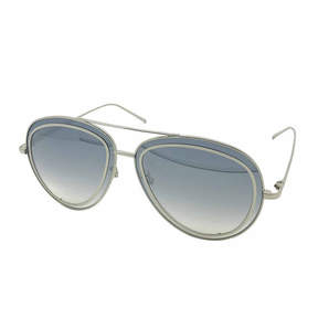 Fantas-Eyes Fantas Eyes Layered Look Half Frame Aviator UV Protection Sunglasses-Womens