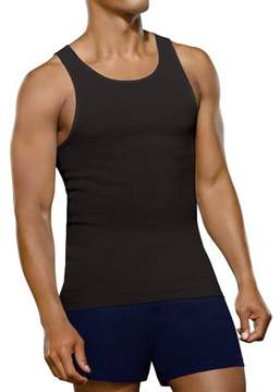 Fruit of the Loom Men's Black and Gray A-Shirts, 4 Pack
