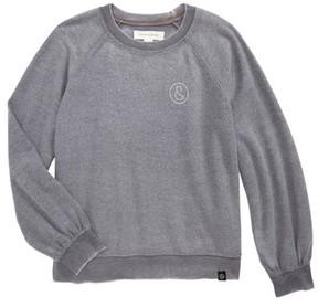 Treasure & Bond Girl's Fleece Sweatshirt