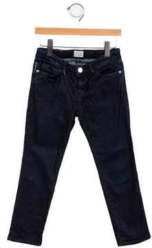 Armani Junior Girls' Metallic-Accented Jeans