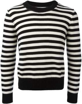 Ami Alexandre Mattiussi striped crewneck sweater