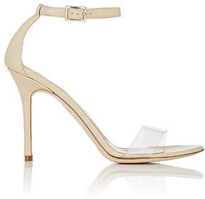 Barneys New York Women's Leather & PVC Ankle-Strap Sandals