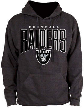Authentic Nfl Apparel Men's Oakland Raiders Defensive Line Hoodie