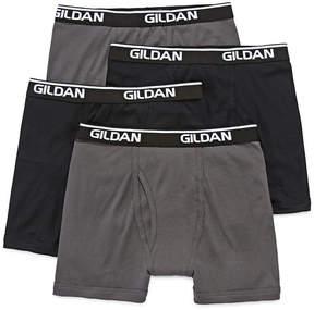 Gildan 4-pk. Platinum Cotton Boxer Briefs