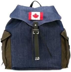DSQUARED2 denim backpack