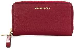 MICHAEL Michael Kors Mercer Leather Wristlet