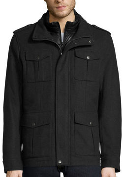 Dockers Wool Military Jacket