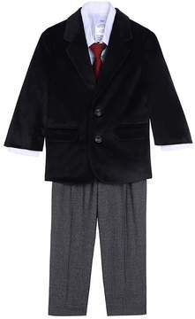 Nautica Boys' Velvet Jacket Set