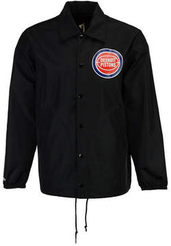 Mitchell & Ness Men's Detroit Pistons Coaches Jacket