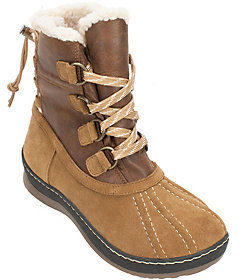 White Mountain Leather Winter Boots - Emory