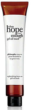 Philosophy When Hope Is Not Enough Replenishing Leave-On Gel-Oil Mask