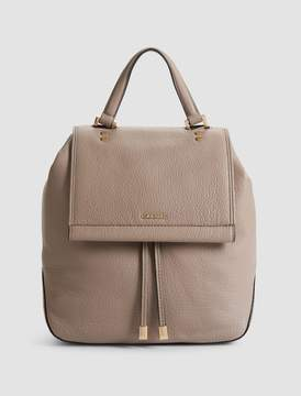 Calvin Klein pebble leather small backpack