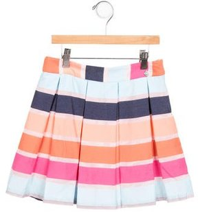 Paul Smith Girls' Pleated A-Line Skirt