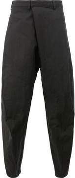 Julius loose fit wrap trousers