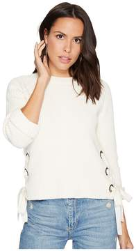 Bishop + Young Side Lace-Up Pullover Women's Clothing