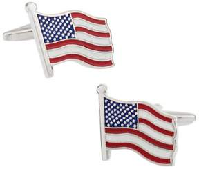 Bed Bath & Beyond American Flag Cufflinks