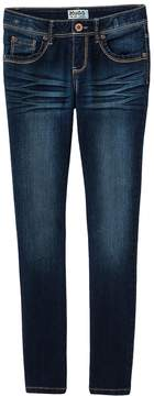 Mudd Girls 7-16 & Plus Size Embroidered Skinny Jeans