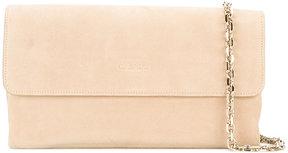Casadei logo embossed shoulder bag