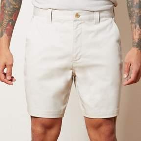 Blade + Blue Stone Cotton Stretch Twill Shorts