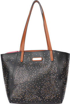 Nicole Lee Zena Studded Shopper Bag with Removable Pouch (Women's)