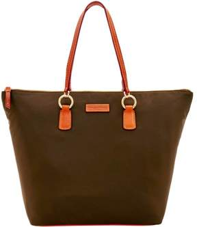 Dooney & Bourke Nylon O Ring Shopper Tote - BROWN TMORO - STYLE
