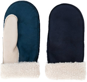 Paul Smith shearling mittens