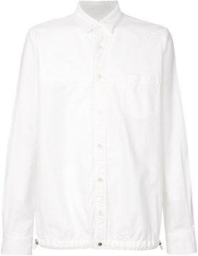 Sacai Drawstring hem shirt jacket