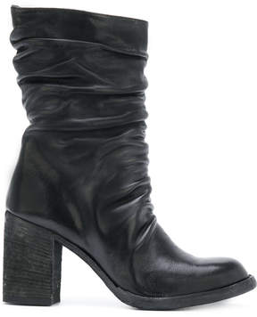 Officine Creative ruched boots